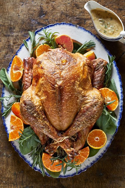 thanksgiving recipes seasoned roasted turkey