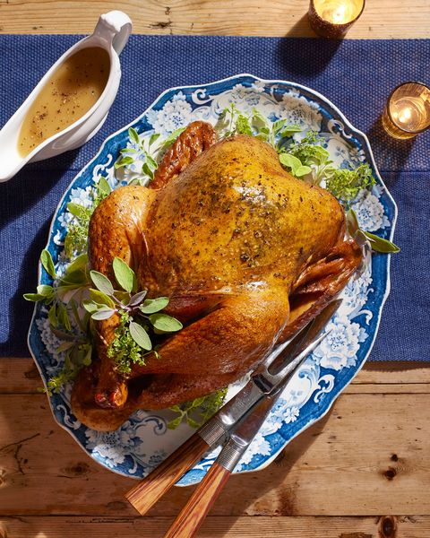 simple herbed turkey with easiest ever gravy
