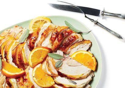 roasted citrus turkey breast