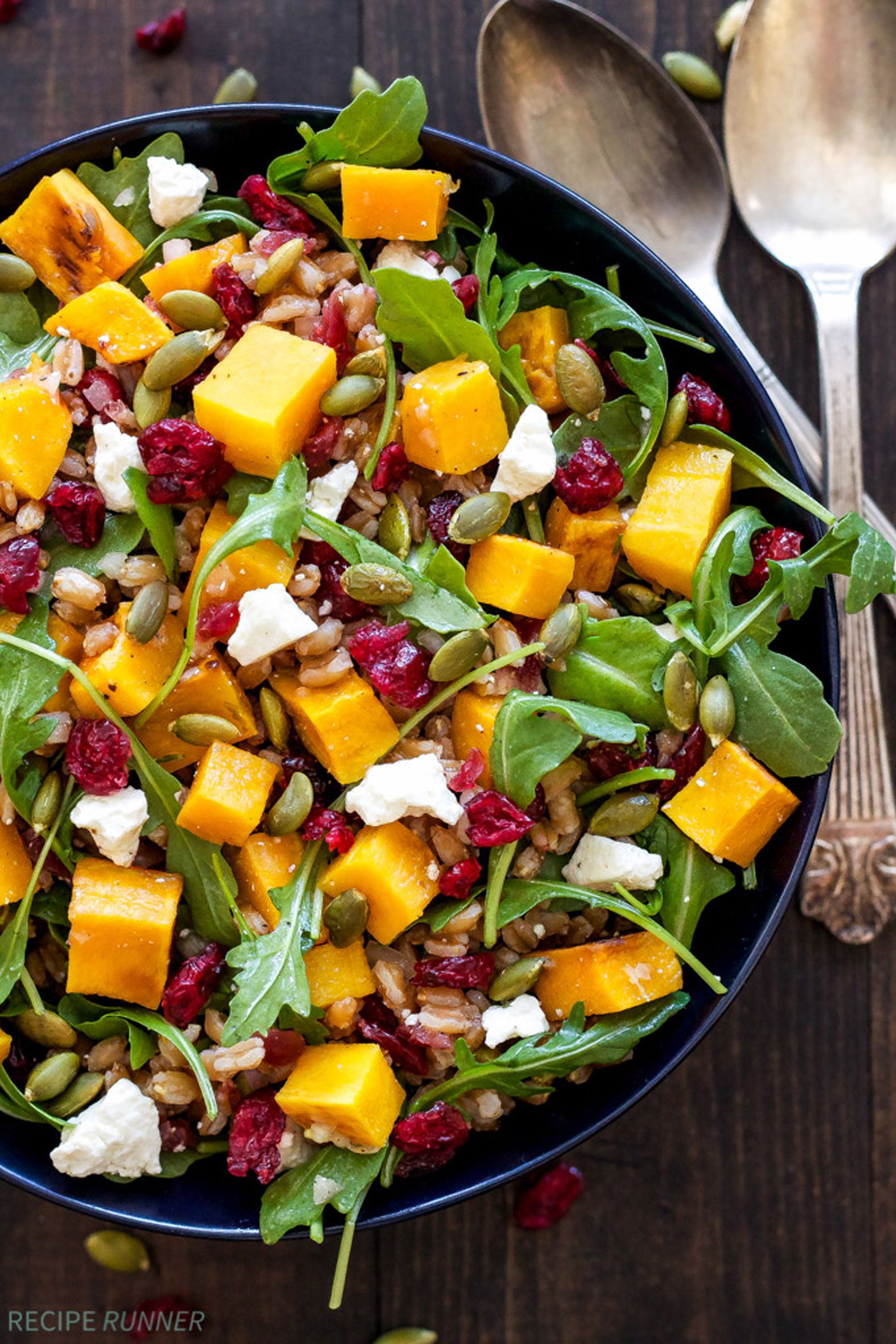 thanksgiving salad butternut squash