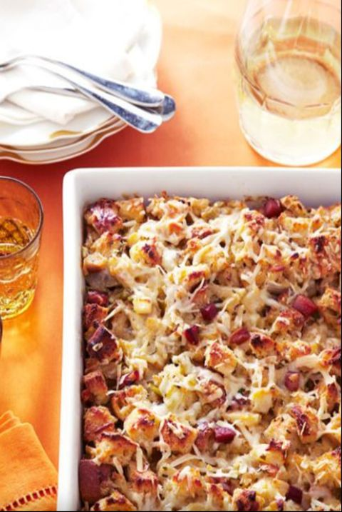 thanksgiving-stuffing-herb-and-apple-bread-pudding