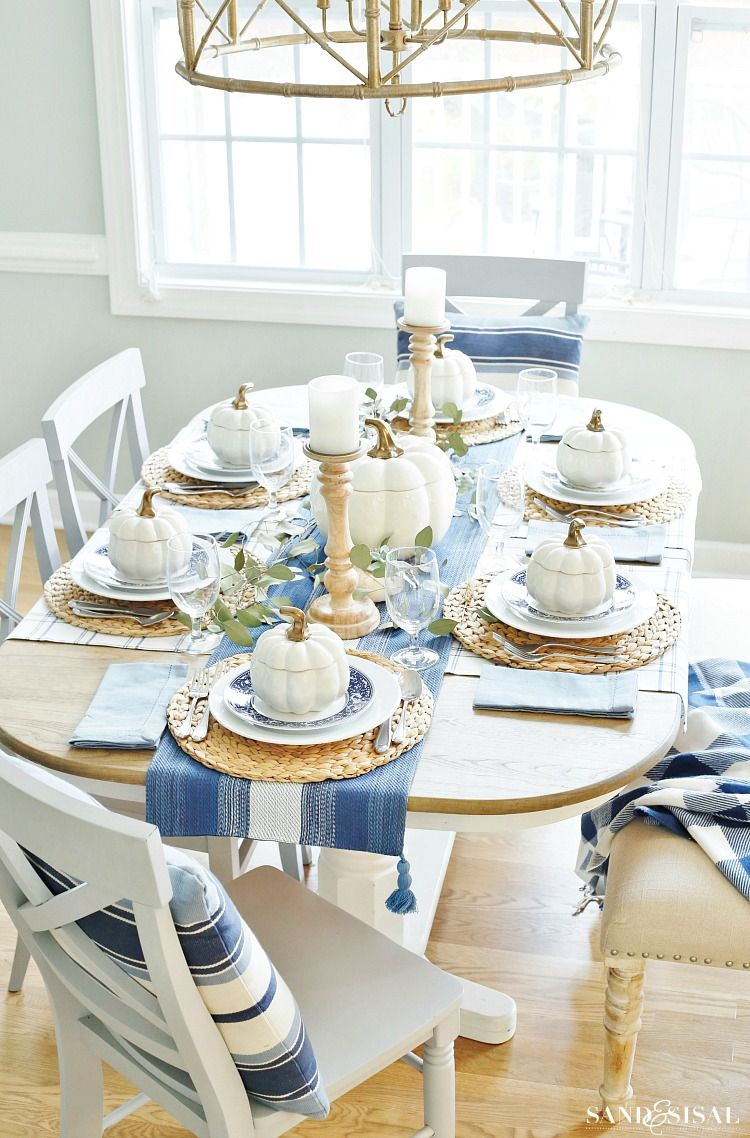 Thanksgiving Table Ideas - 27+ Table Settings for Thanksgiving