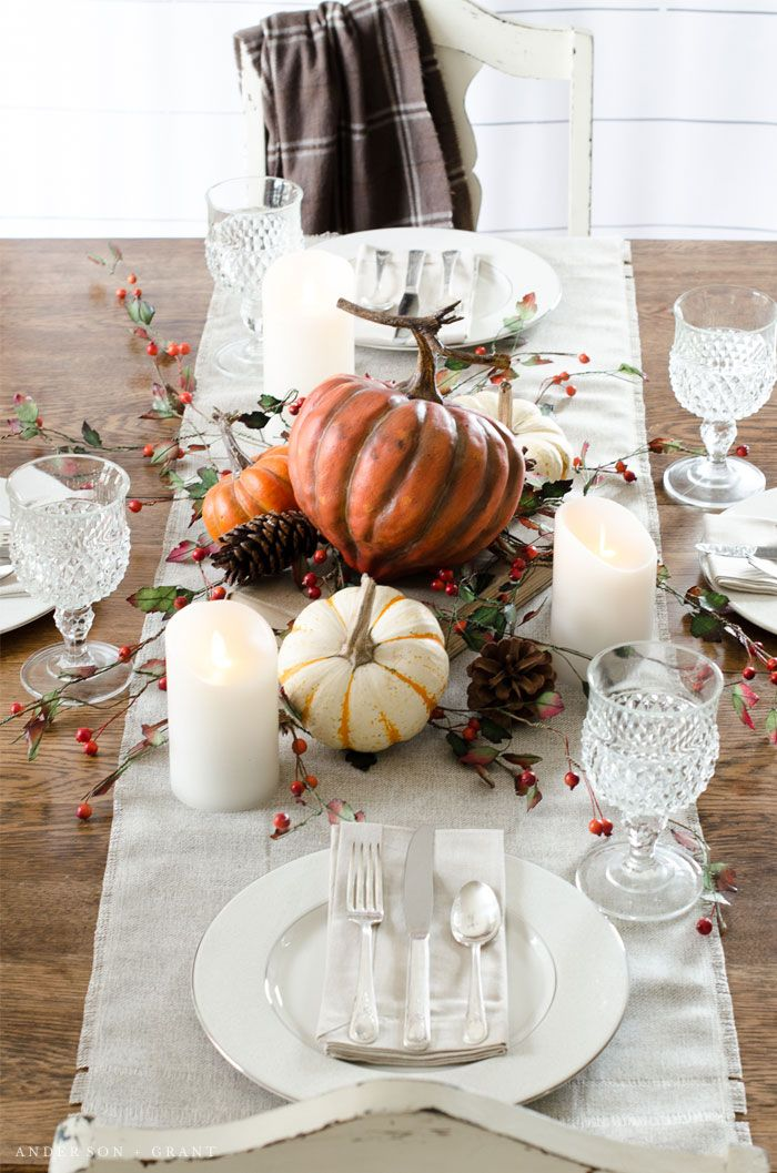 Thanksgiving Table Ideas 45 Table Settings For Thanksgiving