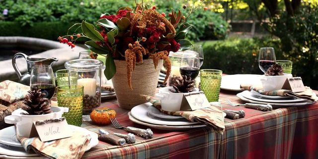 Tremendous Thanksgiving Table Ideas 30 Table Settings For Thanksgiving Download Free Architecture Designs Sospemadebymaigaardcom
