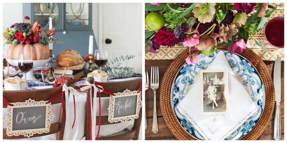 40+ Thanksgiving Table Settings