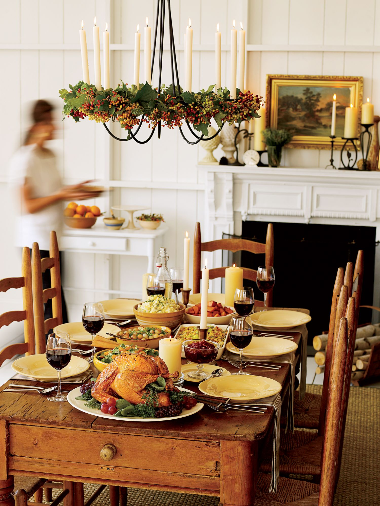 32 DIY Thanksgiving Table Setting Ideas   Table Décor and Place ...