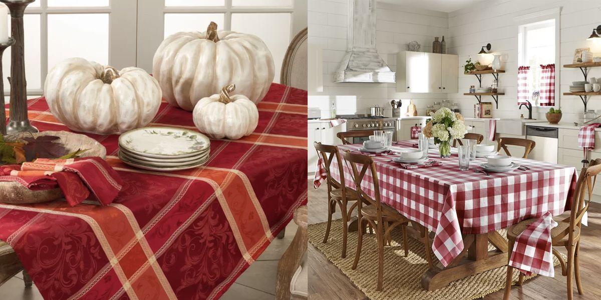 26 Best Thanksgiving Tablecloths - Stylish Thanksgiving ...