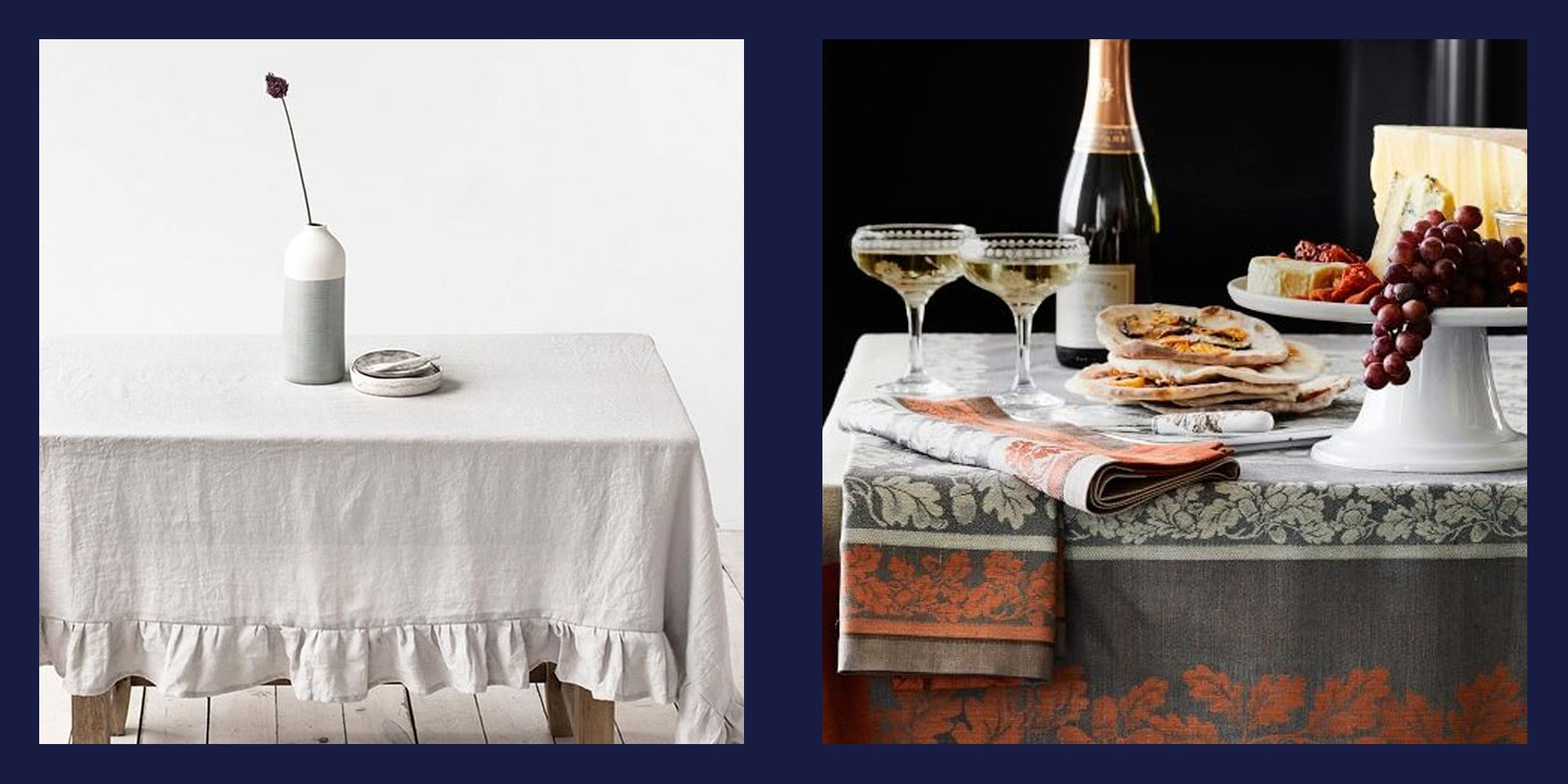 20 Perfect Thanksgiving Tablecloths For