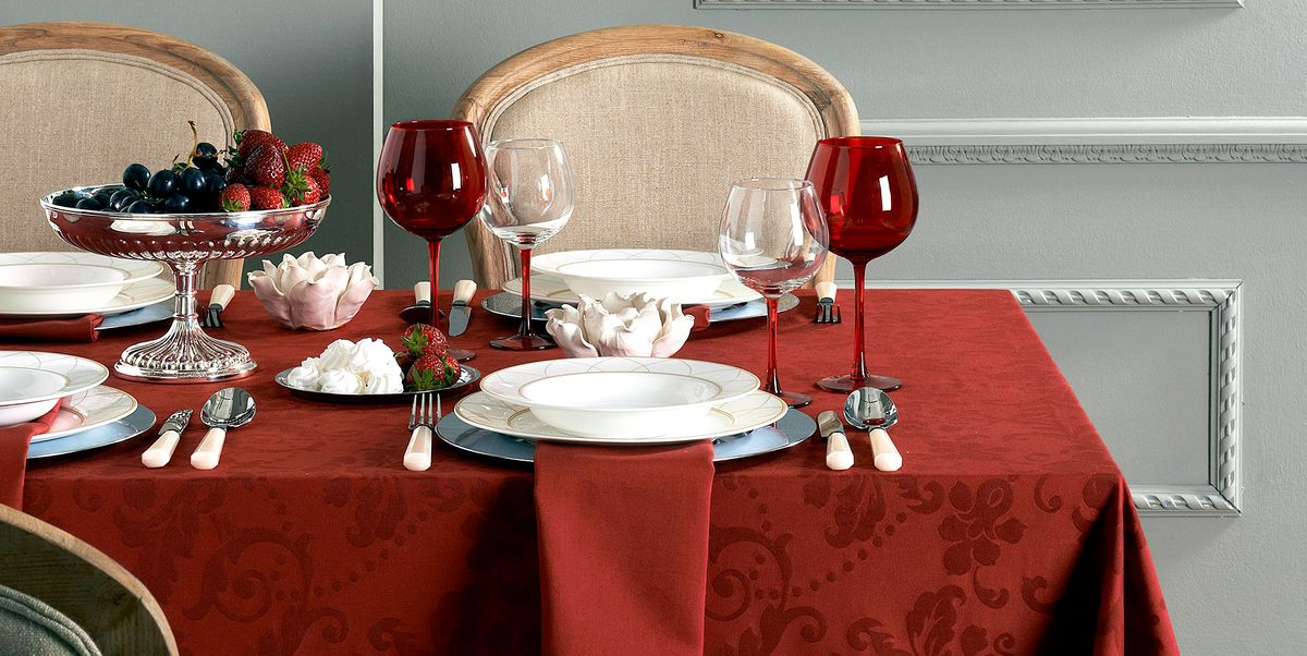 22 Best Thanksgiving Tablecloths Holiday Table Linens
