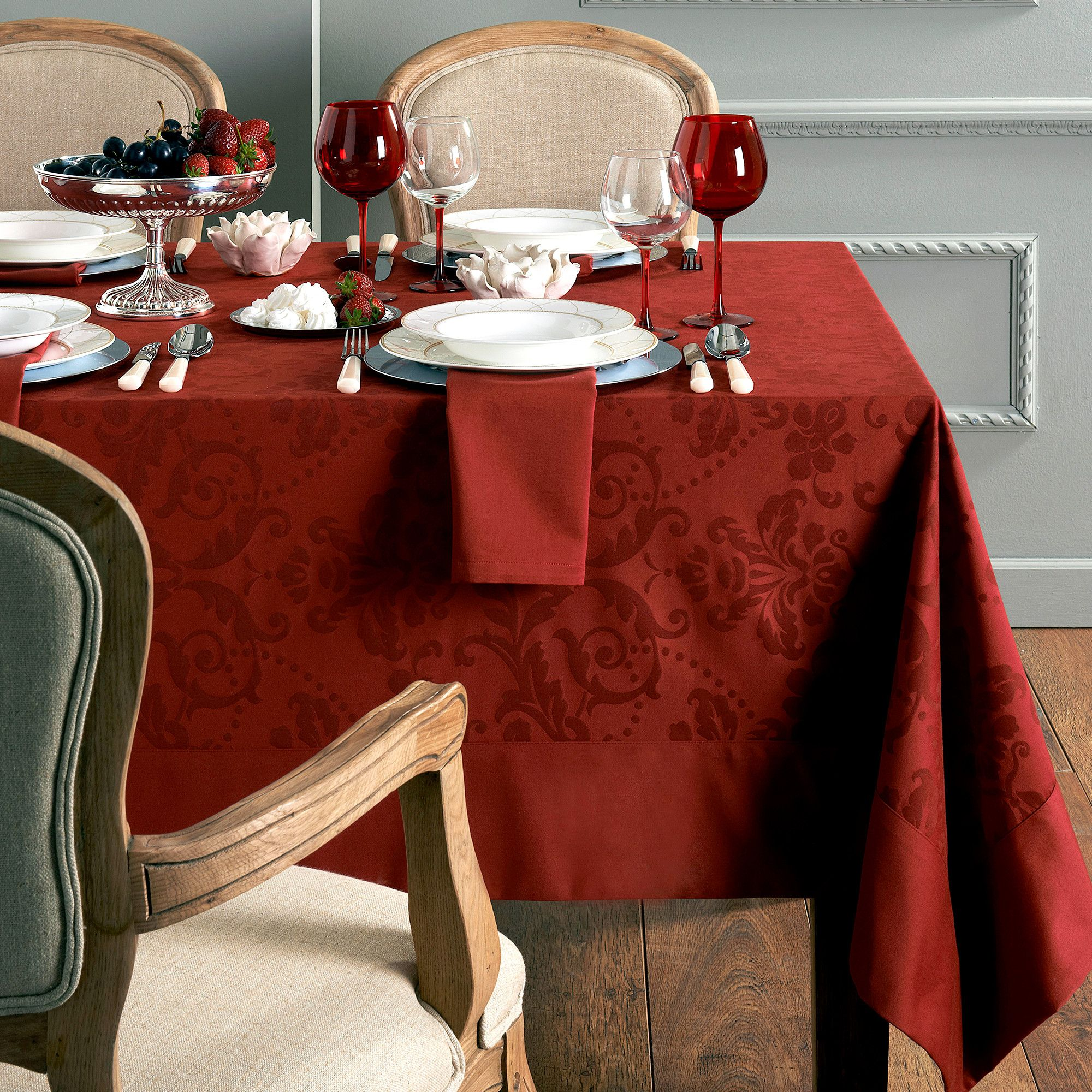 Elegant Thanksgiving Tablecloths