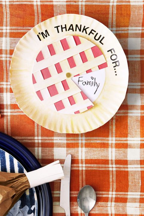 thanksgiving thankful wheel made from paper plates