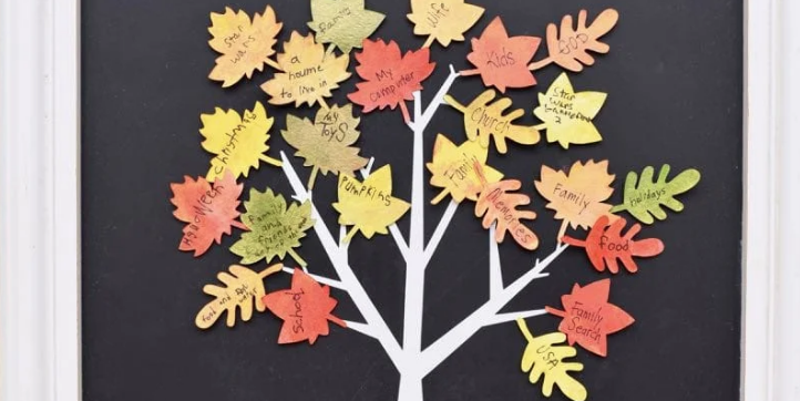 Put Your Gratitude on Display With These Thanksgiving Tree Ideas
