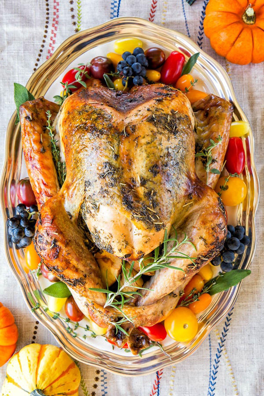 thanksgiving turkey recipes no brine