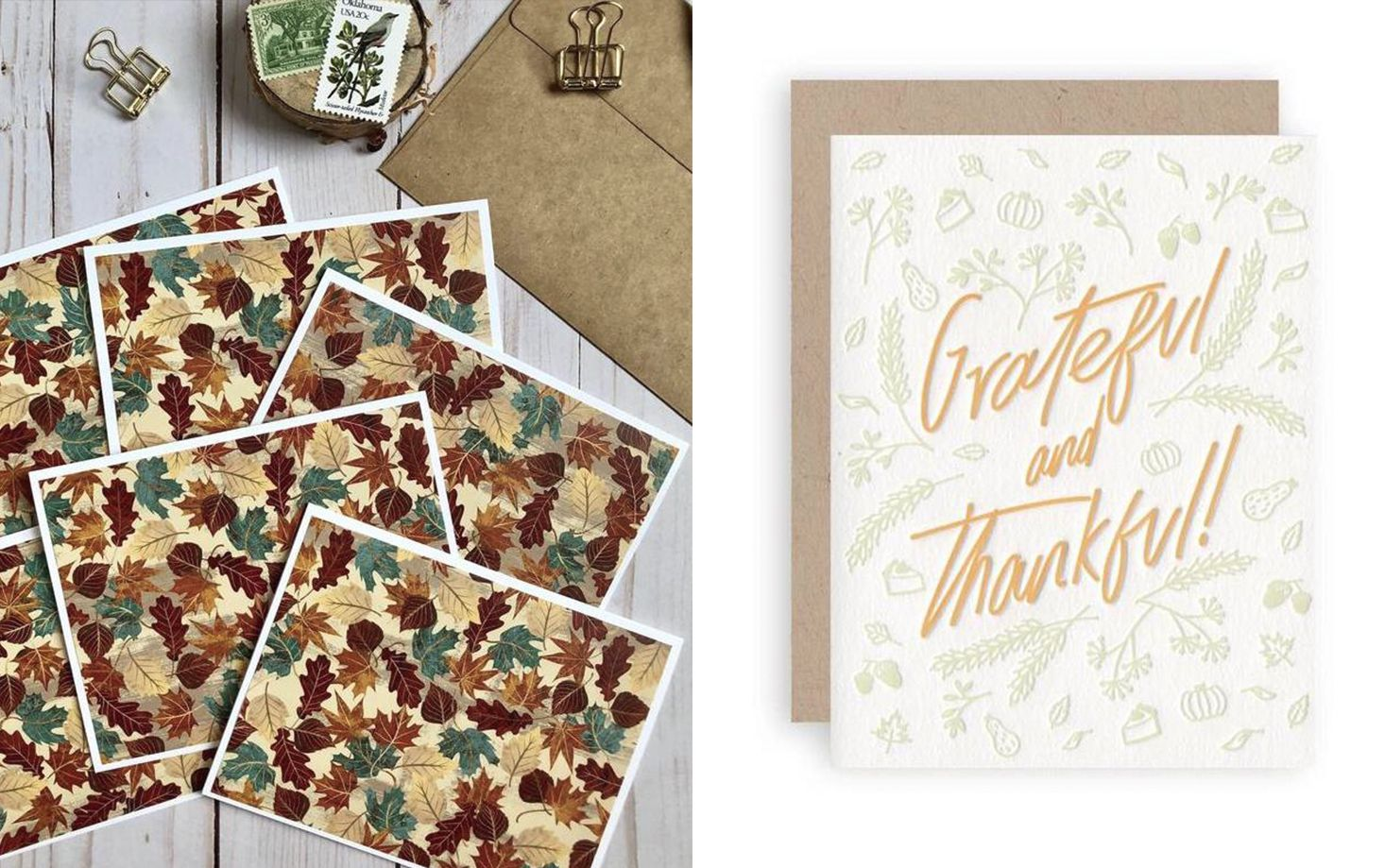 35 Thoughtful Thanksgiving Cards Stylish Thanksgiving Card Ideas