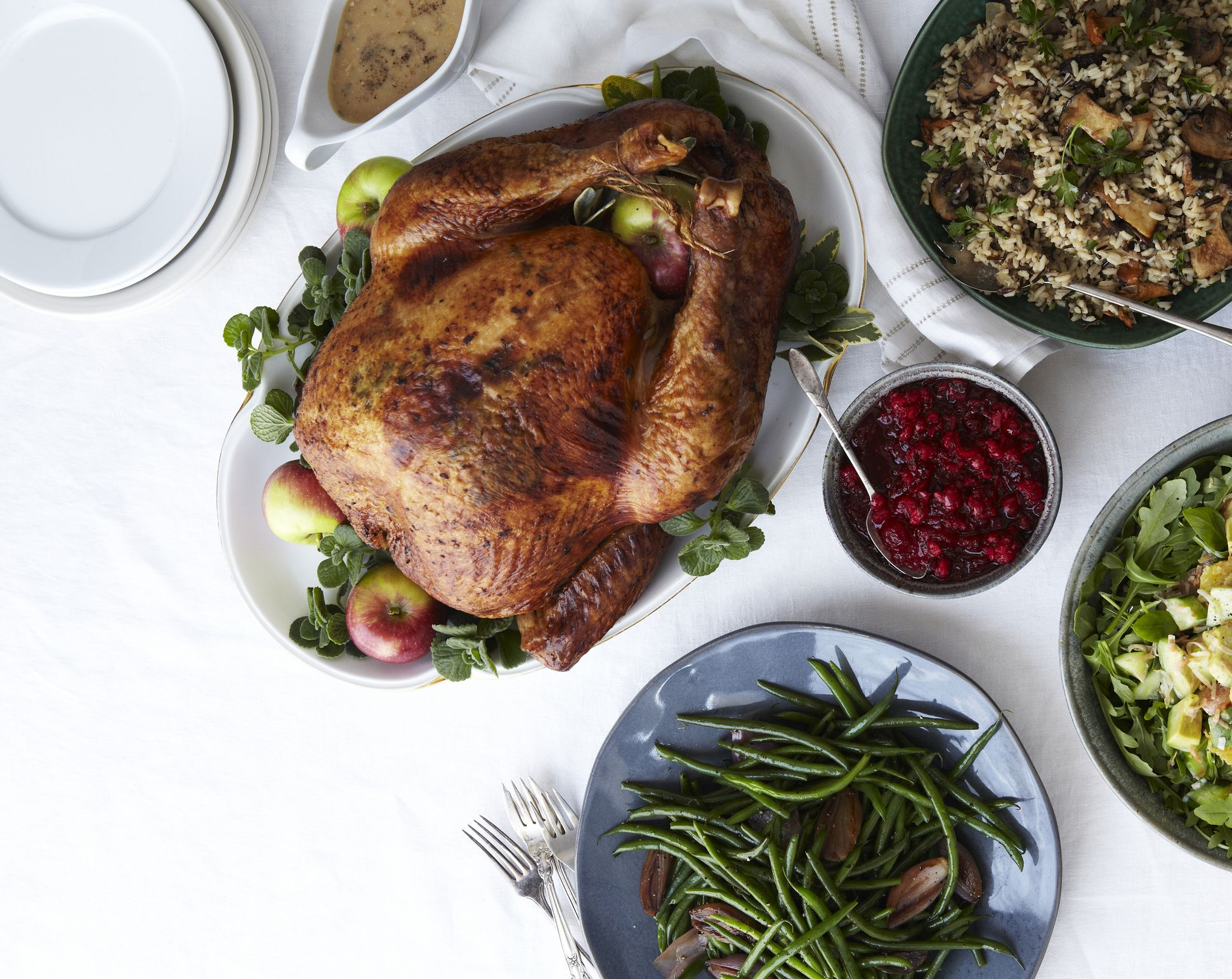 """Stop Worrying About """"Running Off"""" Thanksgiving Dinner"""