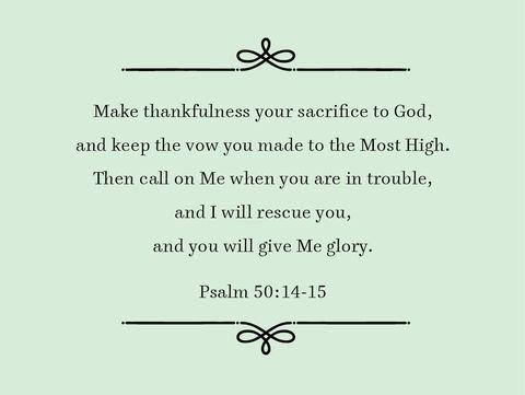psalm 5014 15