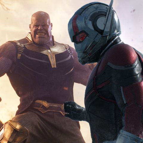 Avengers Infinity War Thanos, Ant-Man