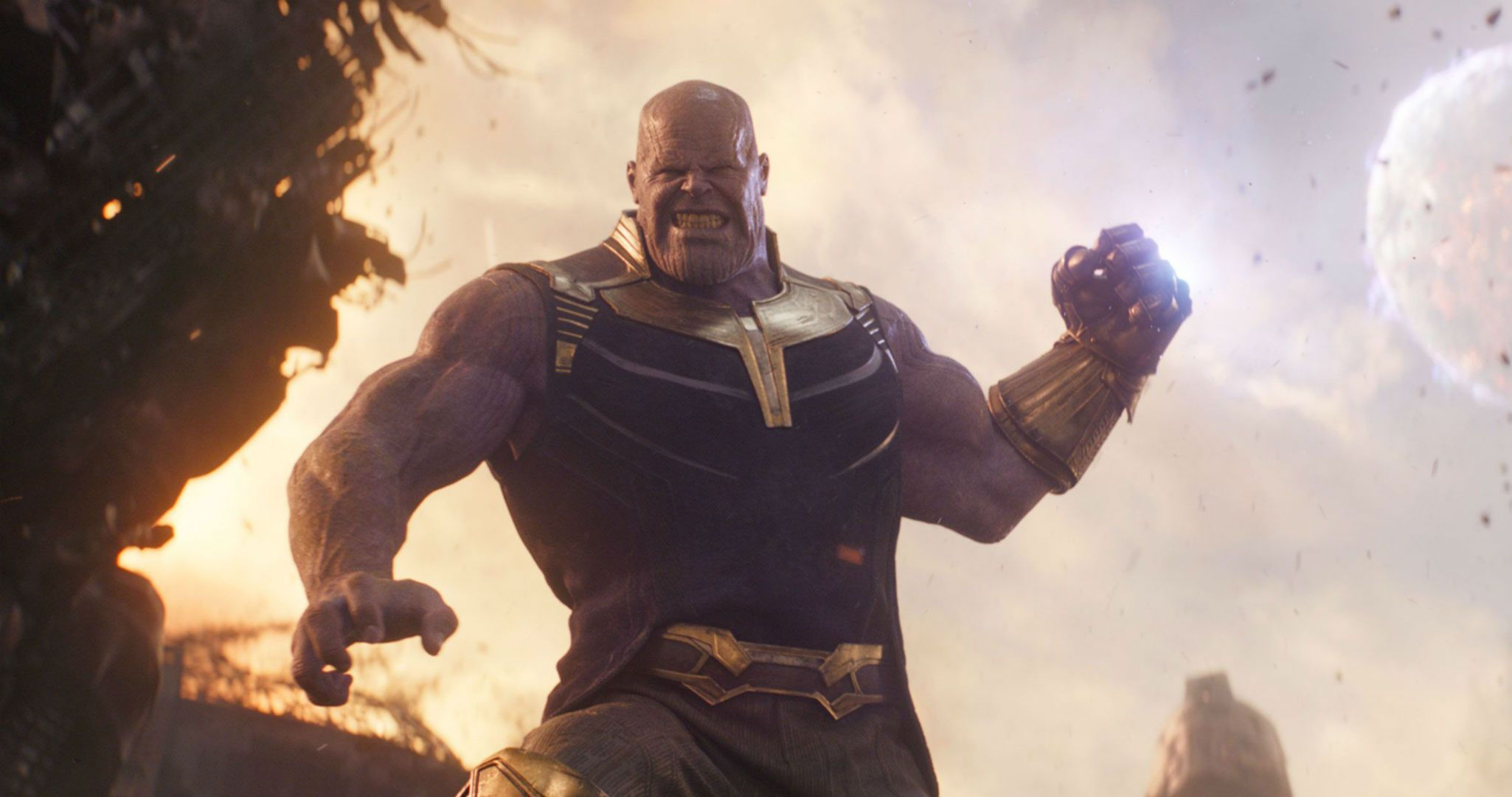 Avengers: Infinity War concept art reveals what young Thanos looked like