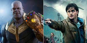 Thanos y Harry Potter