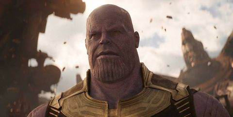 Thanos Vengadores Infinity War
