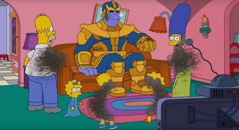 Thanos Los Simpson