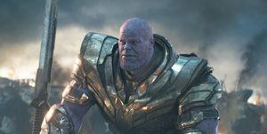 Vengadores Endgame Thanos
