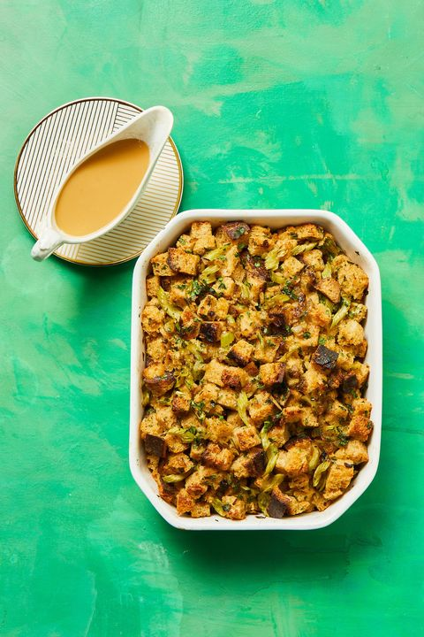thanskgiving side dishes sourdough herb stuffing