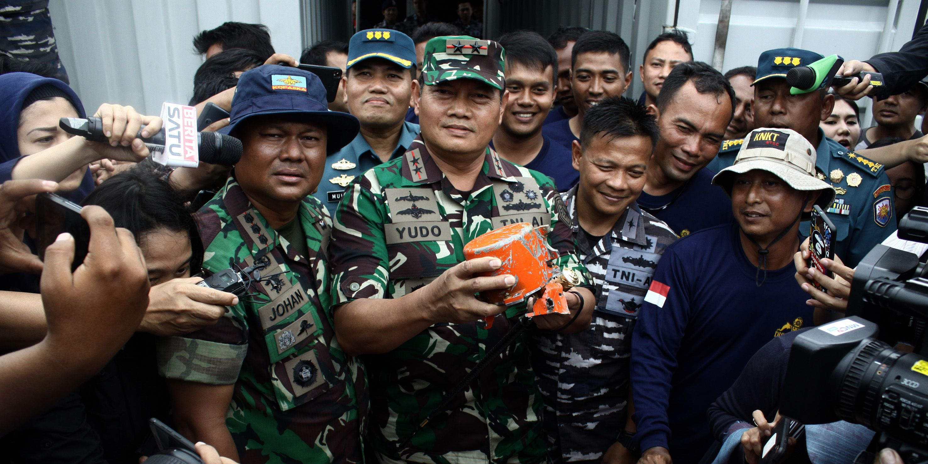 Lion Air JT-610's CVR Successfully Rescued In Indonesia