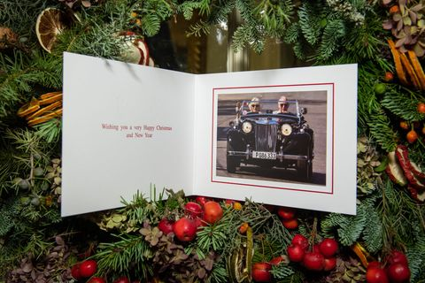 The 2019 Christmas Card Of The Prince Of Wales And Duchess Of Cornwall