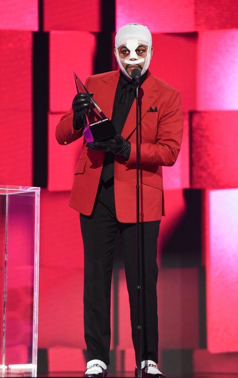 هفتگی از نظر شخصیت قبلا در جوایز موسیقی 2020 آمریکایی