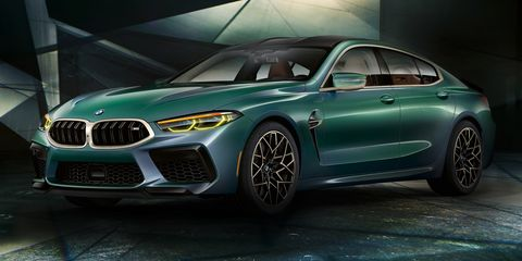2020 BMW M8 Gran Coupe Is the Stylish Way to Get Four Doors
