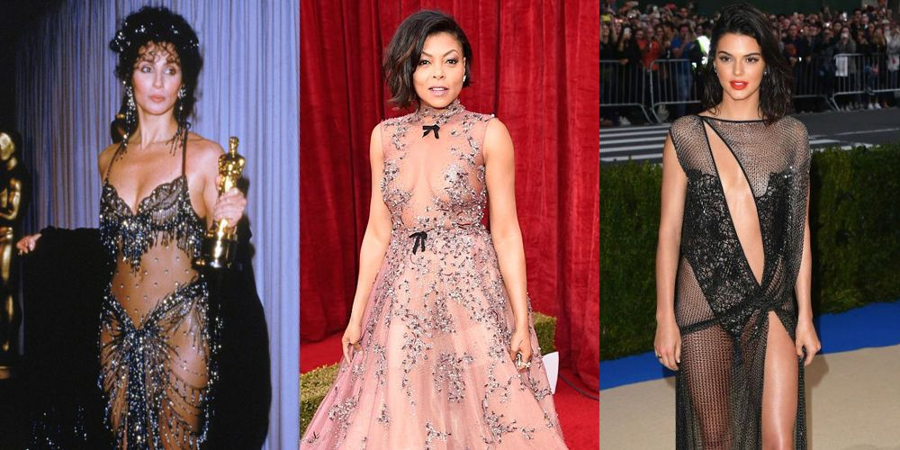 The History Of The Naked Dress - Celebrity Sheer Dresses-3613