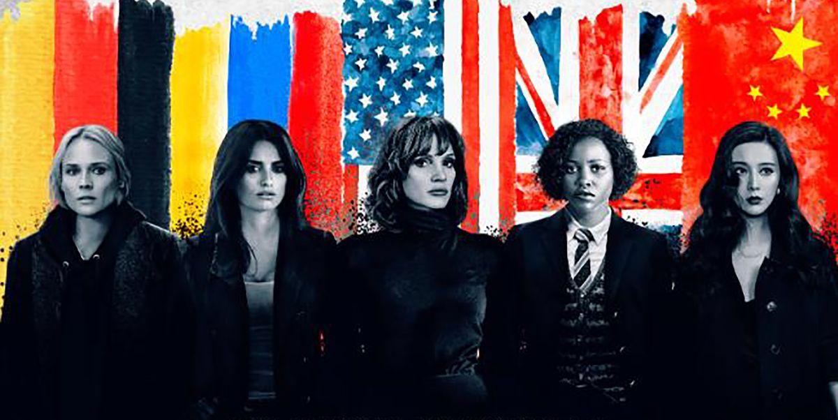 'The 355', con Penélope Cruz, Jessica Chastain, Lupita Nyong'o y compañía, retrasa su estreno un año