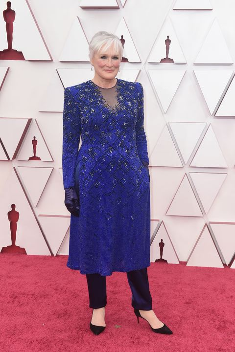 glenn close at the 2021 oscars