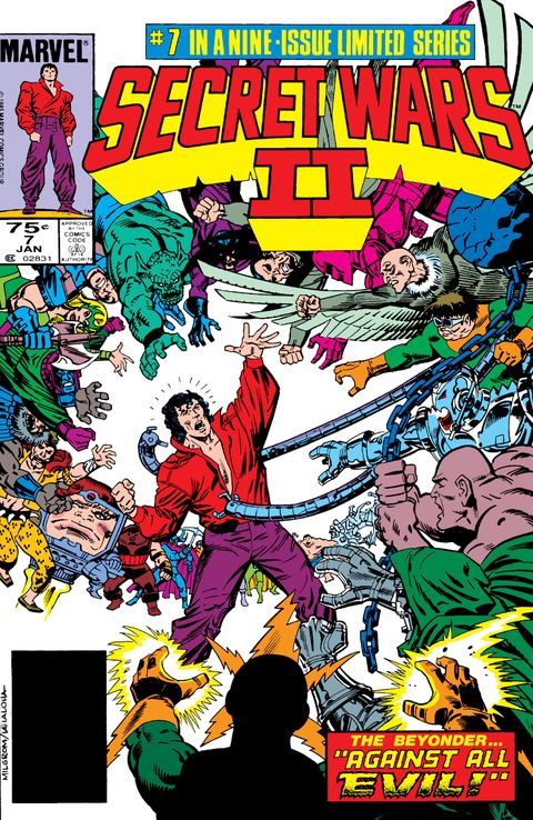 the abomination in marvel comics' secret wars ii