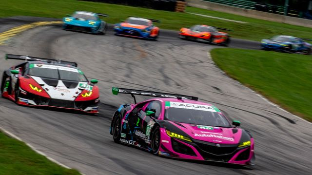 imsa michelin gt challenge at vir