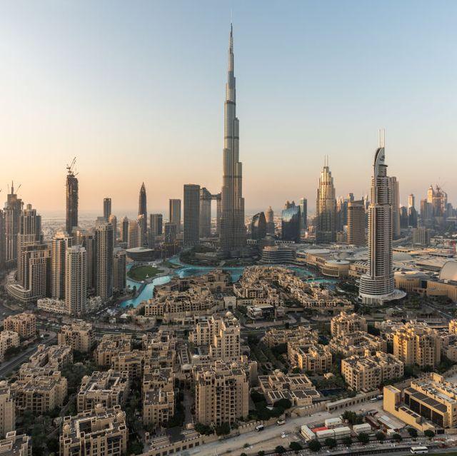 The Dubai Downtown View