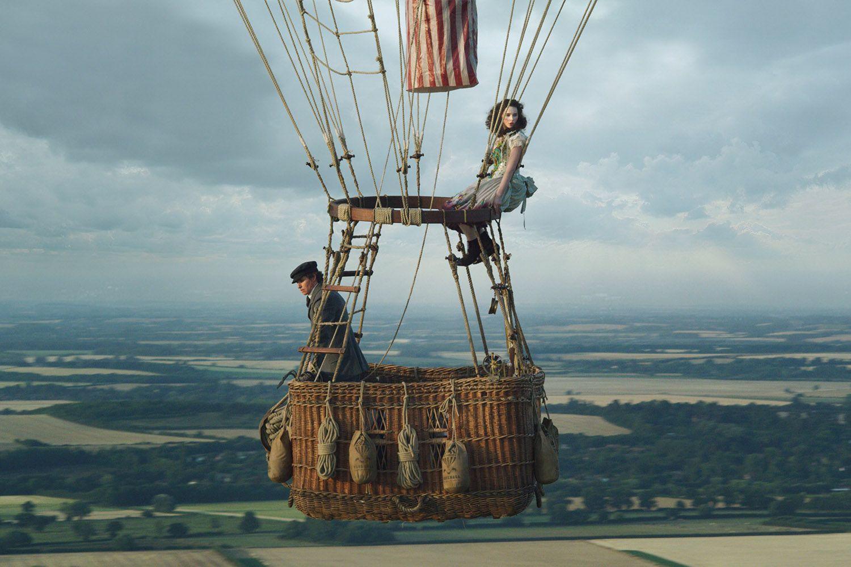 Felicity Jones and Eddie Redmayne take flight in The Aeronauts