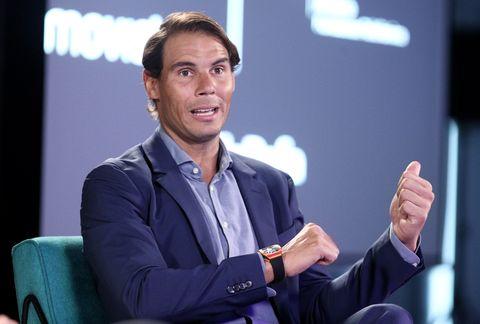 Rafa Nadal Visits 42Madrid By Telefonica Foundation