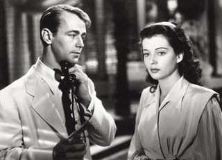 alan ladd and gail russell in 'calcutta'