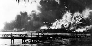 Destroyer Explodes