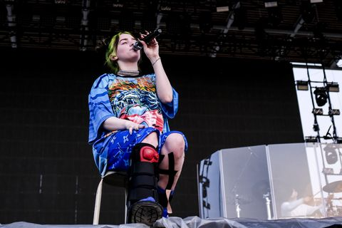 Billie Eilish Performs At Milano Rocks 2019