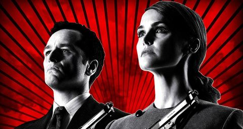 poster de la serie the americans