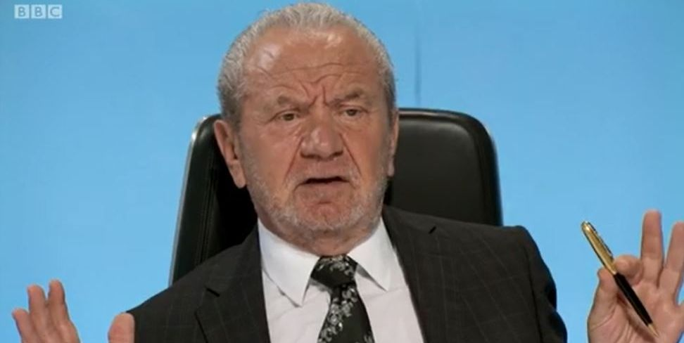 EastEnders: Denny's shock death leaves Lord Sugar unimpressed