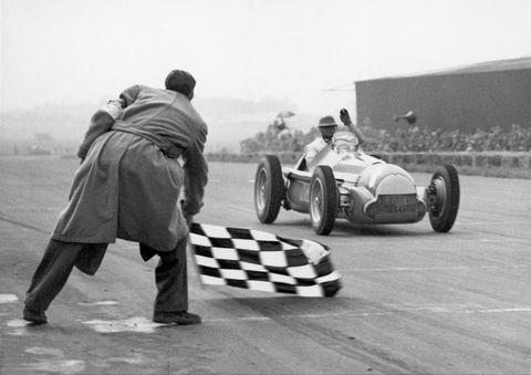 Juan Manuel Fangio, Winner Of The Silverstone International Trophy 1951