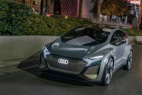 Audi AI:ME autonomous electric concept shown at 2020 CES