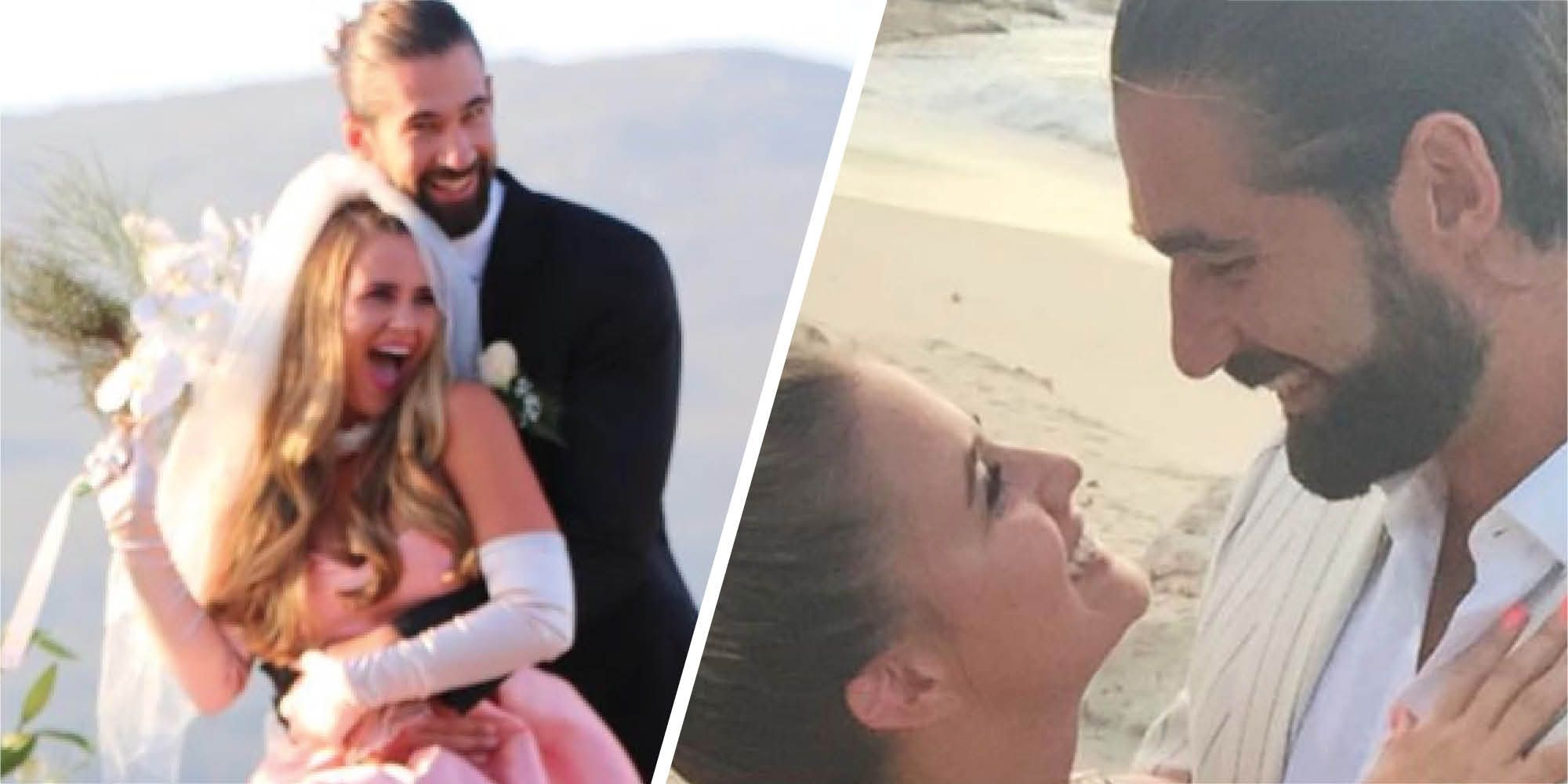The Bachelor UK Photo: The Bachelor UK's Alex And Alicia Reveal They Briefly