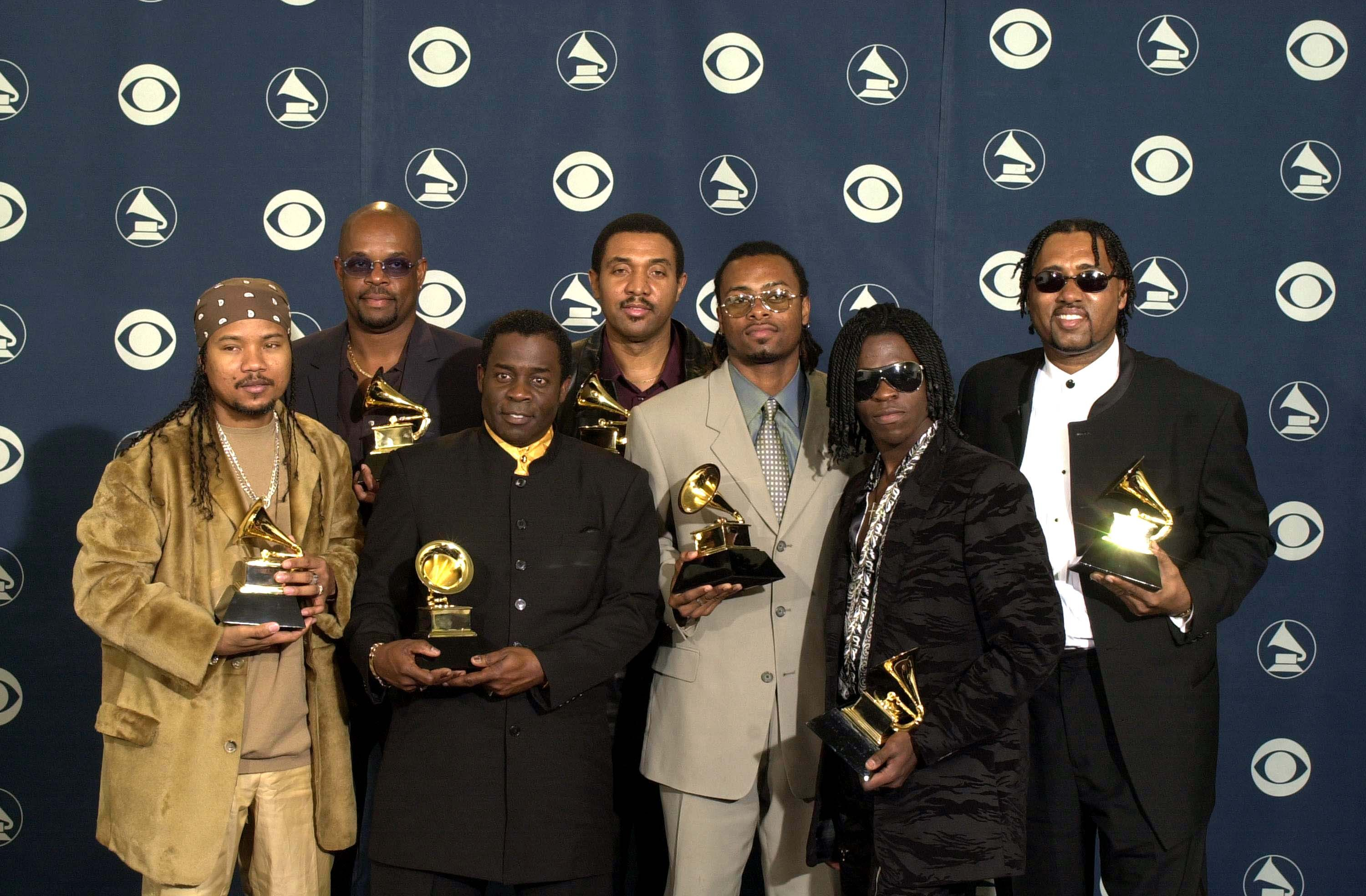 43rd Annual Grammy Awards Backstage