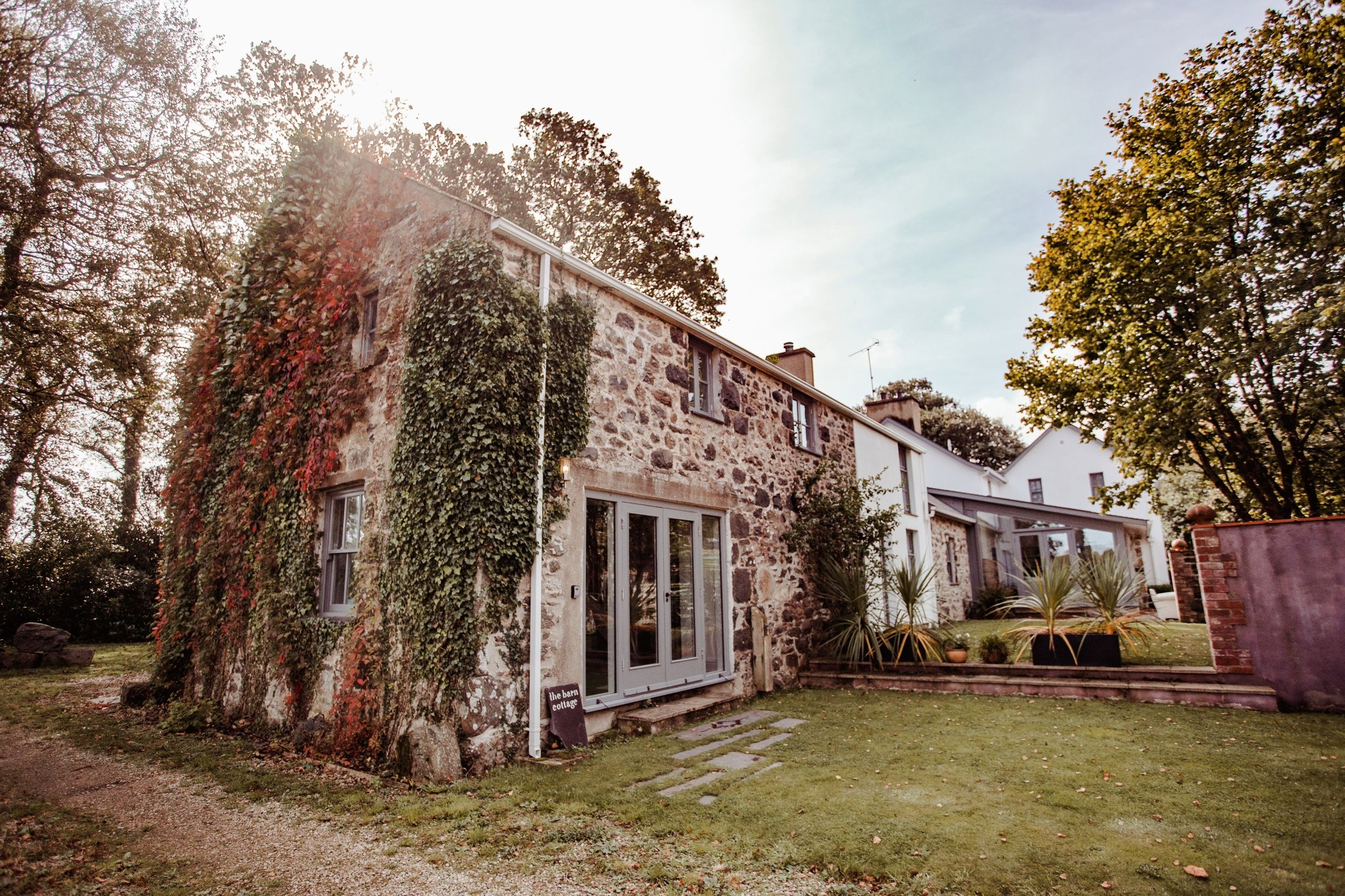 See inside this rustic-luxe farmhouse for sale in Wales