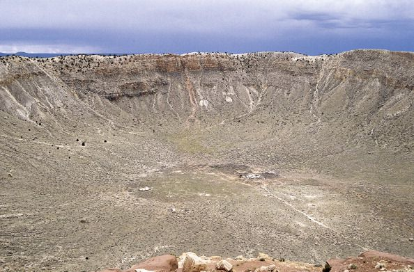 The Barringer Meteor Crater near Winslow